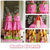 mukena anak M masha 02 pink