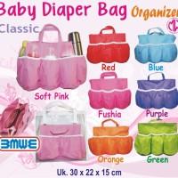 Baby Diaper Bag Polos Organizer (Tas botol susu bayi/balita)