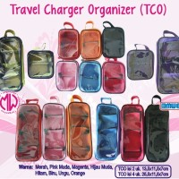 Travel Charger Organizer TCO isi 2 charger ( HP, Laptop. Netbook )