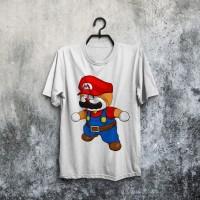 harga Jual Baju Kaos Doraemon Super Mario Bros Lucu Murah Bagus Tokopedia.com