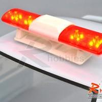 RC POLICE PETROL CAR 105 X 24MM 360 LED LIGHT BAR - RCVP3342018_Y