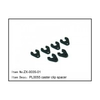 ZX-0035-01 RC Car CASTER CLIP SPACERS