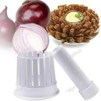 Onion Garlic Blossom Maker alat hiasan penghias pemotong bawang goreng