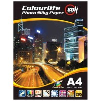 SUN Colourlife Photo Silky Paper 265 Gsm A4 (Kertas SUN)