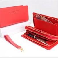 Dompet VIROLITA 2 Resleting Besar, Merah