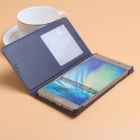 Flip Cover Official Design Samsung Galaxy E7 E7000 S-view Leather Case