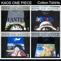 Kaos One Piece Anime Game Manga Komik Kartun Comic Cartoon Games