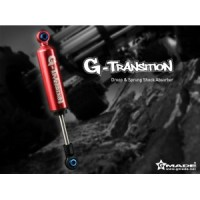GMADE TEAM G-TRANSITION SHOCK RED 90MM AND 107MM (4) FOR 1/10 SCALE CR