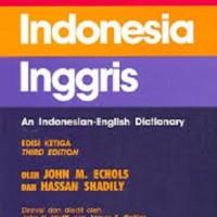 harga Kamus Indonesia - Inggris, John M. Echols, Hassan Shadily (HC) Tokopedia.com