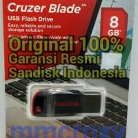 SANDISK FLASH DRIVE CRUZER BLADE 8GB - GARANSI RESMI SANDISK INDONESIA