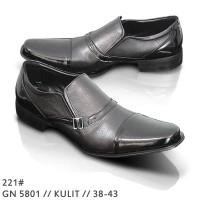 harga Sepatu Formal Pria Hitam Kulit Simple G-Nine GN 5801 Tokopedia.com