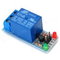 Relay 1 Channel 5V Volt DC ( Output 250VAC / 30VDC 10A ) Led Indicator