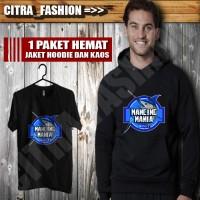 harga Paket Hoodie Sweater Dan Kaos Hitam Mancing Mania Tokopedia.com