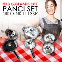 PANCI SET NIKO NK1113SP (NIKO COOKWARE SET)