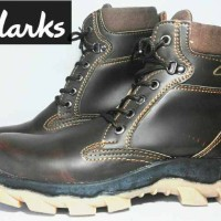 sepatu clarks safety boot/tracking