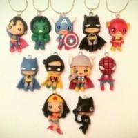 figure the avengers marvel dc dll di buat kalung