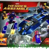 Jual SY308 superhero  - Xmen vs Sentinel - replika lego Murah