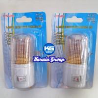 Lampu TIDUR LED 1watt Kyuzuku Hemat Listrik / Mini lamp / lampu malam