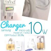 Charger Samsung Model Galaxy S4 i9500 / Note2 N7100 10W OEM Ori 99,9%
