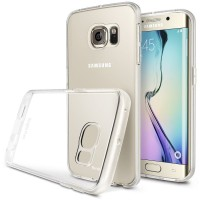 Rearth Samsung Galaxy S6 Edge Ringke Flex - Crystal View