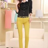 O454 - Yellow (S) Pants