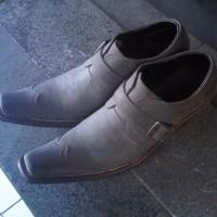 harga Sepatu Pantofel Kulit Gosok Asli EDISI TERBATAS Kode BS222TP Sol Kulit Tokopedia.com