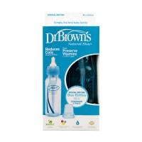 Dr. Brown's Natural PP Bottle Standard 250ml Blue (Isi 2)