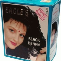 Black Henna Eagle (6x 10 grm) cat rambut black hitam penyemir semir ha