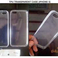Casing/Case For Iphone 5/5S TPU Transparent/Transparan