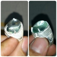 Cincin Obsidian Light Green (Hijau Muda)