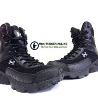 "Sepatu Underarmour Valsetz 7"" Black USA"