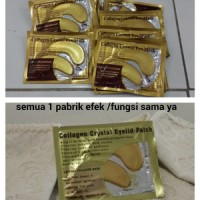 masker mata - cristal collagen gold eye mask