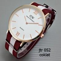 jam tangan wanita /cewek DW jtr 052 coklat