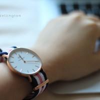 jam tangan wanita /cewek DW jtr 052 pink