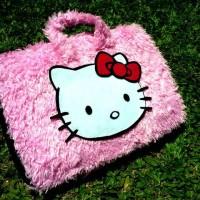 Hello Kitty Pink Lebat 13-14inch softcase/tas laptop netbook,notebook