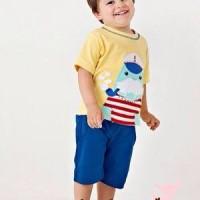 Baju anak import piyama anak Little Doe good quality Kode LDO-C