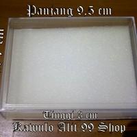 Jual Kotak batu agate / permata / rosario /gelang  7 x 9,5 cm Murah