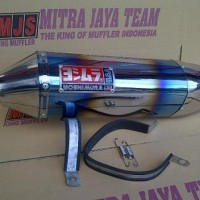 knalpot racing yoshimura usa rainbow buat R15 full set
