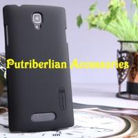Casing Oppo Neo K R831 Hard Case Nillkin Frosted Shield Black Cover
