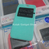 Flip Case / Leather Case Ume View Untuk Evercoss One X (a65)