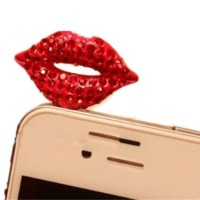 pluggy lips/plug lip/ear plug bibir/dust plug