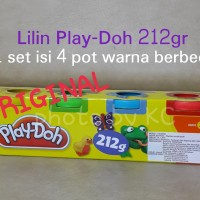 (1set4pot)Lilin Play Doh ORIGINAL 212gr Playdoh Dough Hasbro