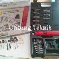 Mini Drill / Mini Grinder / Gerinda Mini DC Set 60 Pcs