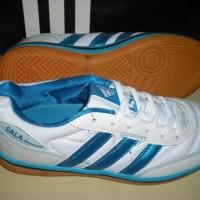 Sepatu Futsal Adidas SALA JANEIRINHA Indoor Import (White Blue)