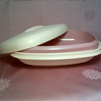 harga Serving Dish With Collander - Tupperware Jadul Tokopedia.com