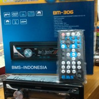 Tape Mobil DVD VCD CD USB MP3 SD Card lengkap dengan remote Merk GMC