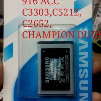 harga Baterai Samsung Champion C3303/ C5212 / C2652 Tokopedia.com