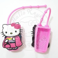 holder hand sanitizer hello kitty kimono