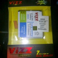 Battery Samsung Galaxy S4 i9500 Merk VIZZ 5200mAh