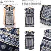 harga Dress Import Fashion Gaun Baju Pakaian Wanita Impor Cotton Katun Halus Tokopedia.com